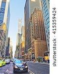 new york  usa   may 6  2015 ... | Shutterstock . vector #415359424