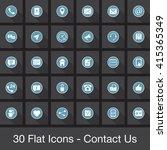 web vector icons set  ui modern ...