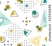 geometric seamless pattern... | Shutterstock .eps vector #415410658