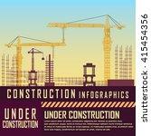 building under construction... | Shutterstock .eps vector #415454356