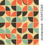 retro vintage wallpaper pattern ...   Shutterstock .eps vector #415472260