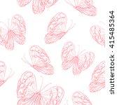 vector seamless wallpaper... | Shutterstock .eps vector #415485364