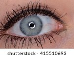 human eye | Shutterstock . vector #415510693