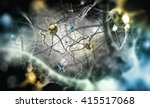 Neurons  3d Illustration