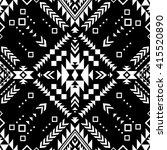 black and white color tribal... | Shutterstock .eps vector #415520890