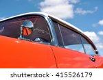 Detail Of Vintage Car On A...