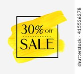 sale 30  off sign over grunge... | Shutterstock .eps vector #415526278
