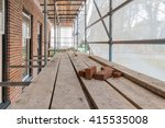 residential house construction... | Shutterstock . vector #415535008