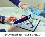 business. | Shutterstock . vector #415537810