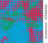halftone pattern. vector... | Shutterstock .eps vector #415566466