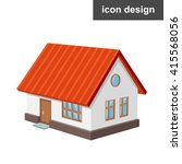 house home icon | Shutterstock .eps vector #415568056
