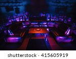 night party vip zone with large ... | Shutterstock . vector #415605919