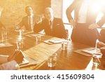 teamwork togetherness unity... | Shutterstock . vector #415609804