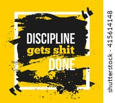 inspirational motivational... | Shutterstock .eps vector #415614148