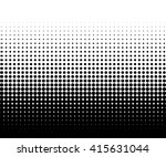 circle halftone element ... | Shutterstock .eps vector #415631044
