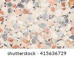 terrazzo floor texture... | Shutterstock . vector #415636729
