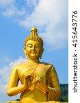 buddha statue   Shutterstock . vector #415643776