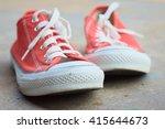 sneakers | Shutterstock . vector #415644673