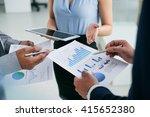 hands of business executives... | Shutterstock . vector #415652380