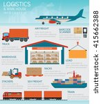 infographic of industrial... | Shutterstock .eps vector #415662388