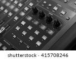 black and white sound music... | Shutterstock . vector #415708246
