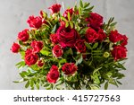 Stock photo red roses bouquet 415727563