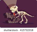 international museum day. night ... | Shutterstock .eps vector #415732318