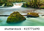 long exposure image of a... | Shutterstock . vector #415771690