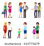 detailed character people...   Shutterstock .eps vector #415773679