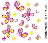butterfly | Shutterstock .eps vector #415775854