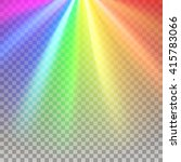 rainbow rays. color spectrum... | Shutterstock .eps vector #415783066