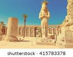 Africa  Egypt  Luxor  Karnak...