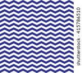 zigzag blue pattern in vector | Shutterstock .eps vector #415786510