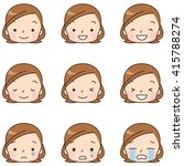 character of cute comic style | Shutterstock . vector #415788274