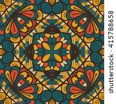 seamless abstract pattern  hand ... | Shutterstock .eps vector #415788658
