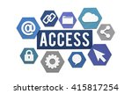 access available usable... | Shutterstock . vector #415817254