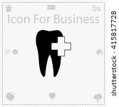 tooth icon. tooth vector....