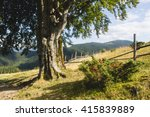 summer landscape of chornogora... | Shutterstock . vector #415839889