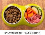natural food in a bowl as... | Shutterstock . vector #415845844