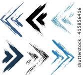 vector geometric seamless... | Shutterstock .eps vector #415856416