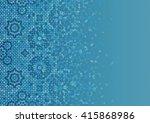 disintegration mosaic template. ...   Shutterstock .eps vector #415868986