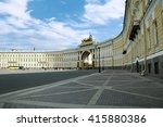 Winter Palace Square And The...