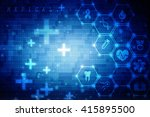 abstract medical background | Shutterstock . vector #415895500