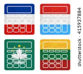 nation flag. calculator... | Shutterstock . vector #415937884