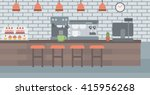 background of coffee house. | Shutterstock .eps vector #415956268