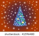 illustration of christmas...   Shutterstock .eps vector #41596480