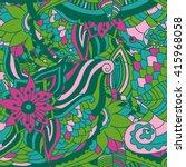 vector vivid seamless abstract... | Shutterstock .eps vector #415968058