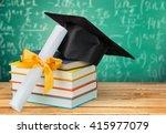 graduation. | Shutterstock . vector #415977079
