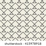 abstract seamless pattern. line ... | Shutterstock .eps vector #415978918