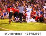 illustrative image of touchdown ...   Shutterstock . vector #415983994